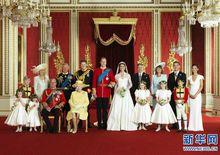 英国王室最新全家福