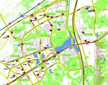 仙林大学城公共自行车分布图(大图)